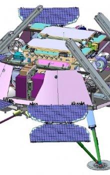Přistávací platforma mise ExoMars 2018.