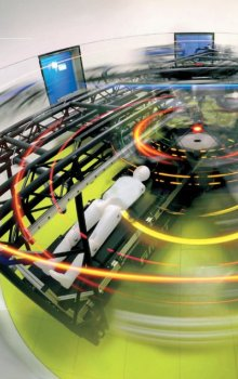 Centrifuga ve výzkumném středisku DLR :envihab.