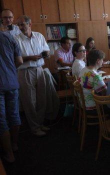 Účastníci workshopu.