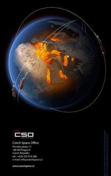 Brožura Czech Space Activities 2013.