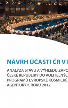 Cover page of the CSO analysis: The proposal for the contribution of the Czech Republic to ESA
