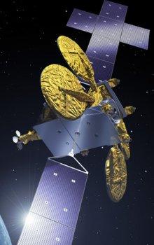 Ilustrace družice Neosat.