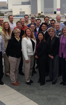 Účastníci kurzu IPM-11 v únoru roku 2014