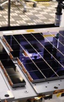 Speciálních 106 CCD detektorů s celkem 1 miliardou pixelů vyvinutých pro astrometrickou observatoř Gaia.