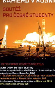 Czech Space Competition 2015.