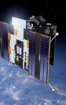 Model of the Proba-2 satellite.