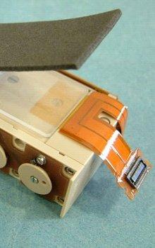 Kontejner s detektory pro experiment BASE-B/C