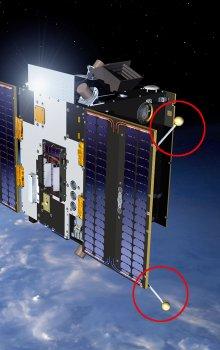 Vizualizace družice Proba-2