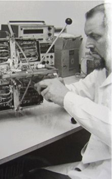 Construction of satellite Magion 1.