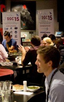 Opening Dinner v rámci Space Generation Congress 2015.