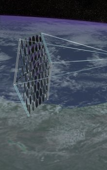 Space-based solar power.