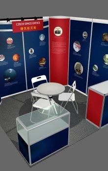 Model stánku CSO na IAC 2013