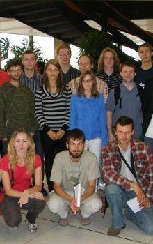 Skupina spolupracujících studentů na IAC 2010 v Praze.