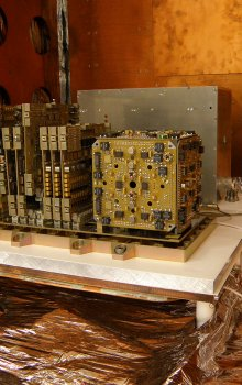 Vaccum testing of micro-accelerometer for Swarm mission